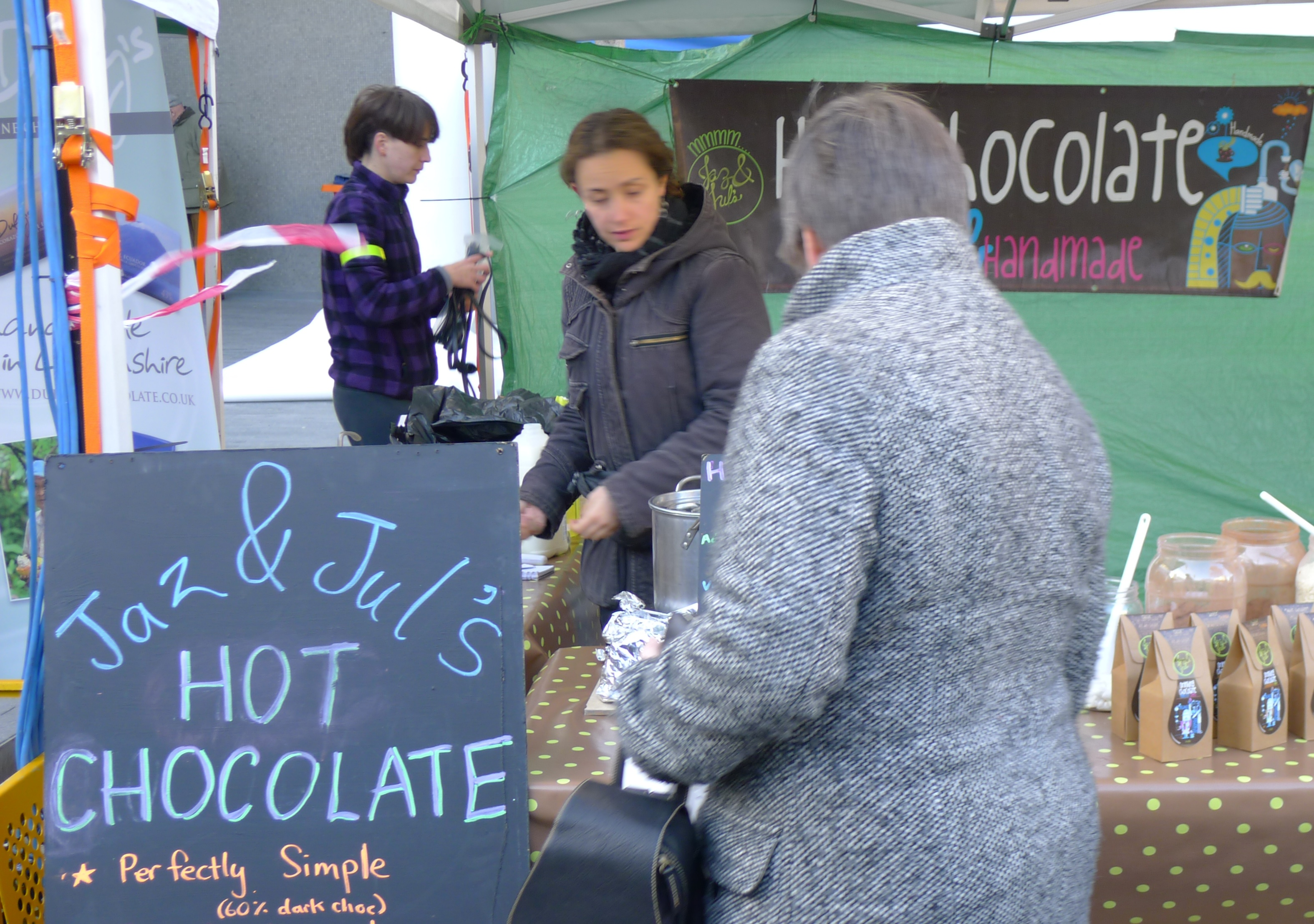 Jaz and Jule Handmade Organic Hot Chocolate