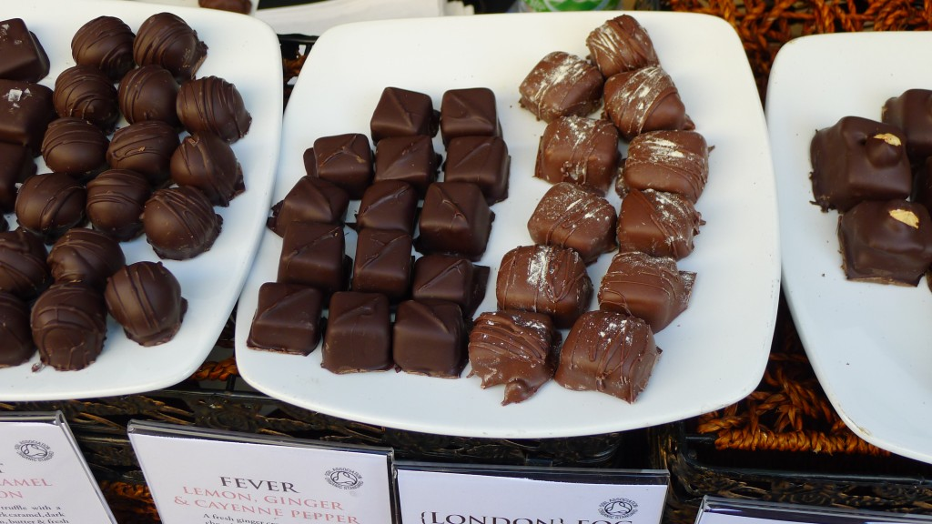 Handcrafted organic chocolate confections