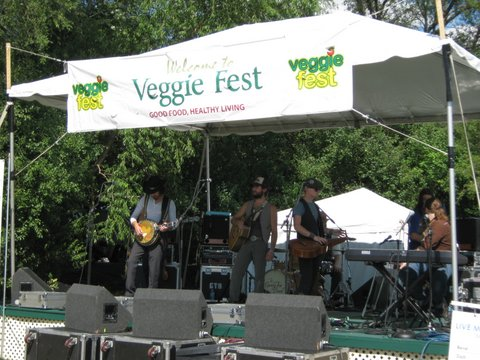 Chicago Veggie Fest 2012 Live Music