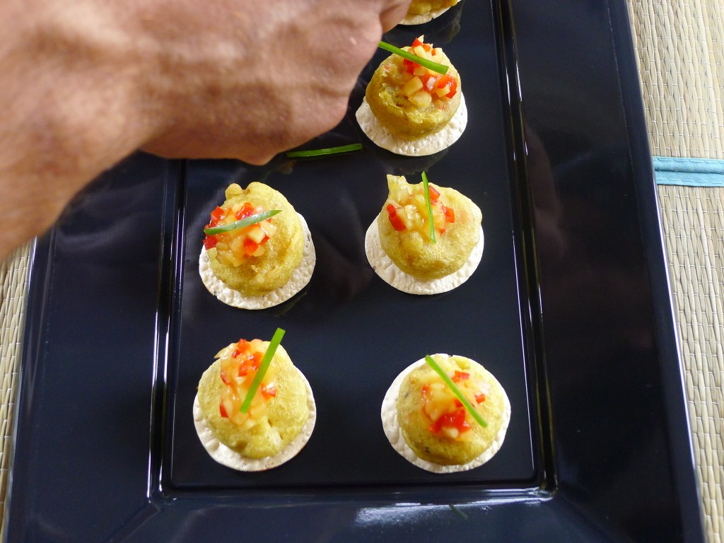 Spicy Wada with Pickled Mango 2