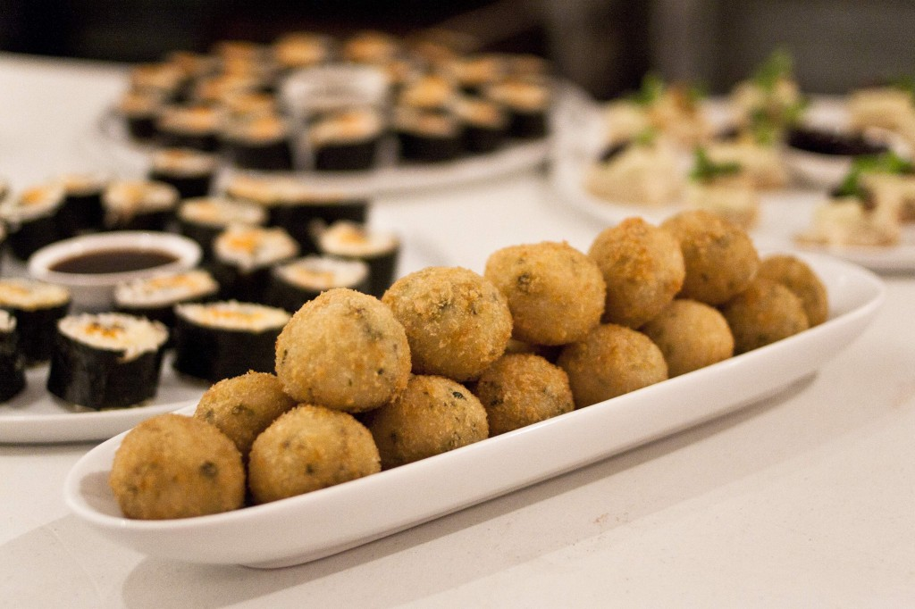 Basil & Sunflower Pesto Arancini Balls - photo credit Mariona Otero