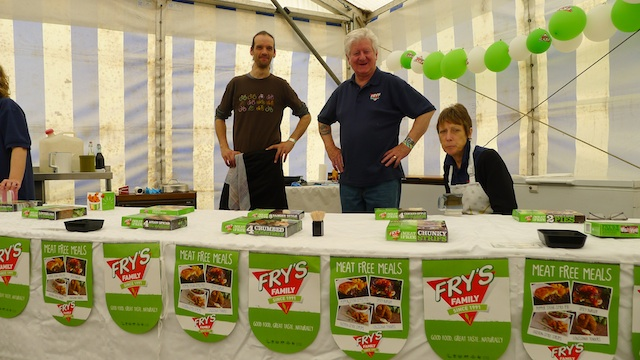 Fry's UK VegFest 2013