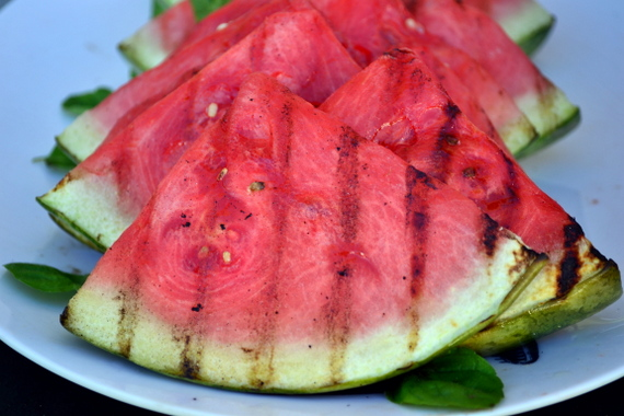 grilled watermelon_vegan peasant catering